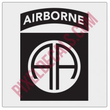 Army 82nd Airborne Insignia Decal