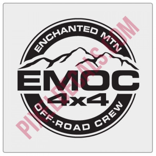 Enchanted Mountain Offroad Fender Decal