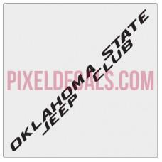 OKSJC Banner Decal