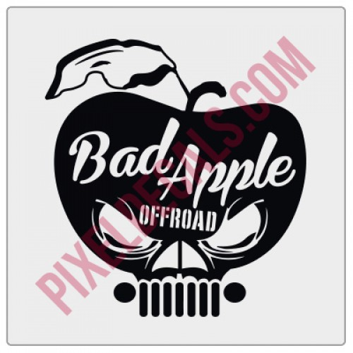 Bad Apple Offroad Decal