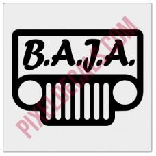 BAJA Logo Decal