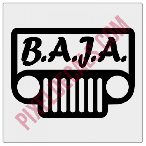 BAJA Logo Decal