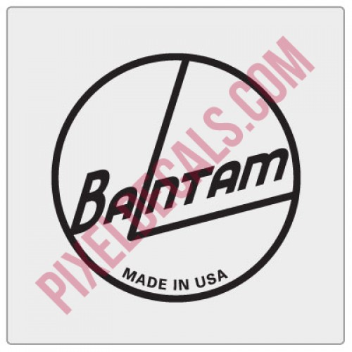 Bantam American Decal