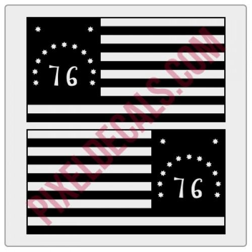 Bennington Flag Decals