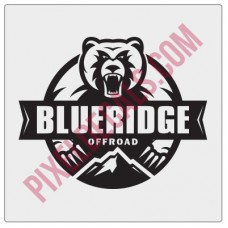 Blue Ridge Offroad Decal