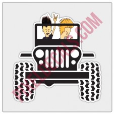 Beavis & Butthead Jp Decal