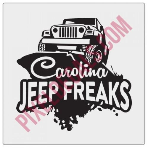 Carolina Jp Freaks Fender Decal V1