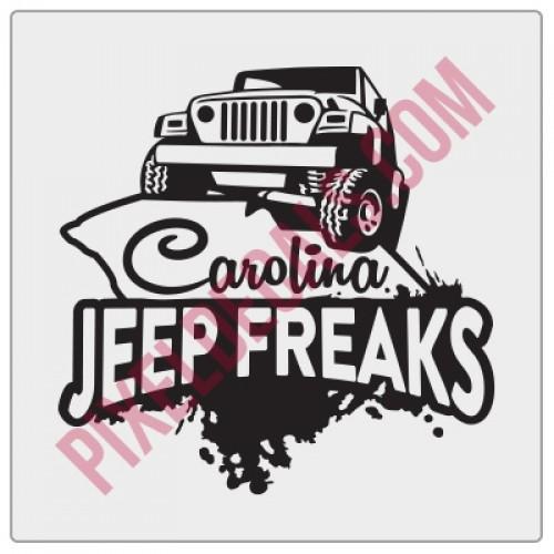 Carolina Jp Freaks Fender Decal V2