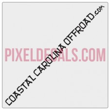 Coastal Carolina Offroad Banner Decal