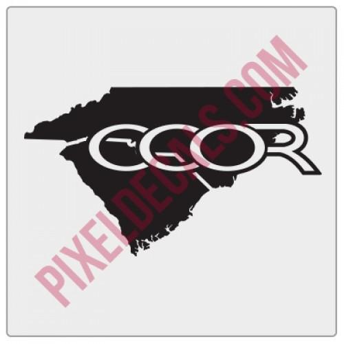 Coastal Carolina Offroad Fender Decal