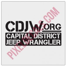 CDJW.org Fender Decal - New Style