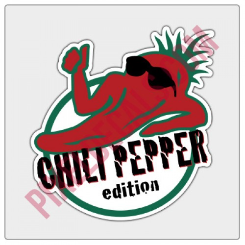 Chili Pepper Edition Decal