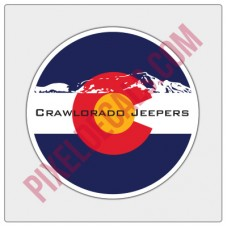 Crawlorado Jprs Circle Decal