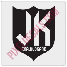 Crawlorado Jprs Shield Decal