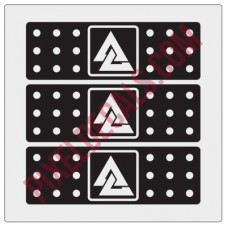Chicagoland Dirty Deltas Bandaid Decals