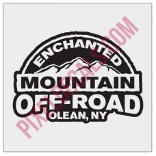 Enchanted Mountain Offroad Logo Decal