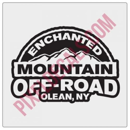 Enchanted Mountain Offroad Logo Decal