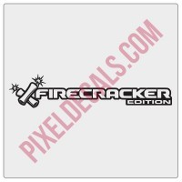 Firecracker Edition Decal (Pair)