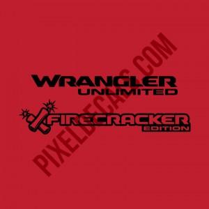 JL Firecracker Edition Decal (Pair)
