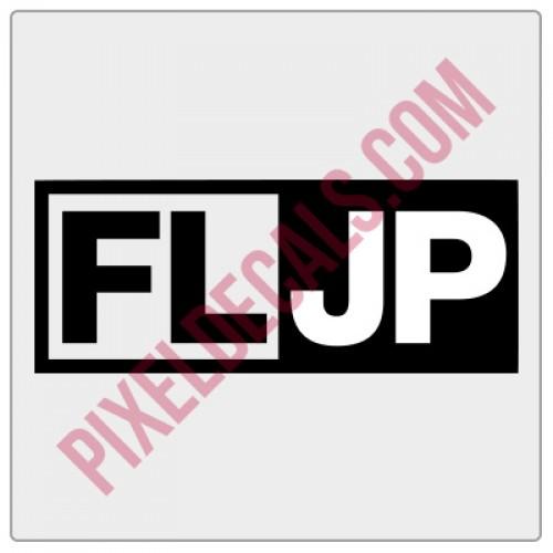 FLJP Rectangle Decal