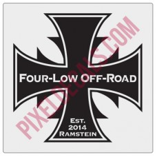 Four Low Off-Road Ramstein Decal