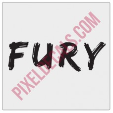 FURY Decal