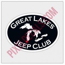 Great Lakes Jp Club Oval Decal