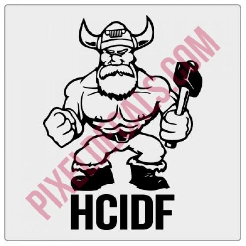 HCIDF Fender Decal