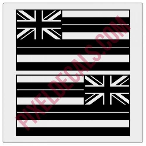 Hawaii Flag Decals