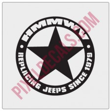 HMMWV - Replacing Jps Since 1979 Star Decal