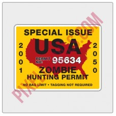 Hunting Permit Decal
