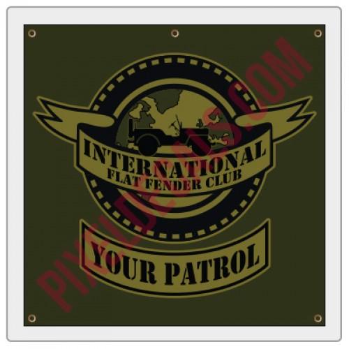 IFFC Vinyl Banner
