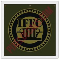 IFFC Vinyl Banner - Circle Logo