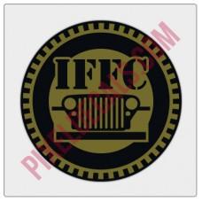 "IFFC Circle Decal - 2"" size"