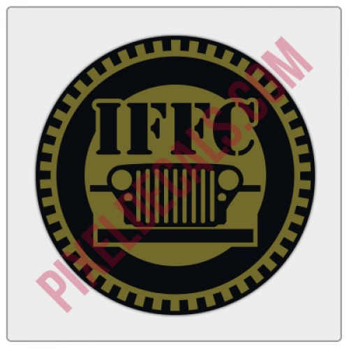"IFFC Circle Decal - 2"" size"