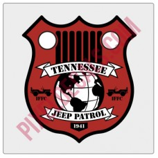 "IFFC Tennessee Decal - 2"" tall size"