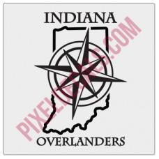 Indiana Overlanders Logo Decal