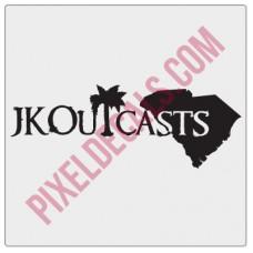 JK Outcasts Decal (South Carolina)