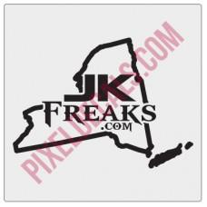 JKFreaks.com New York Decal
