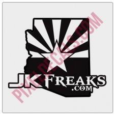 JKFreaks.com Arizona Decal