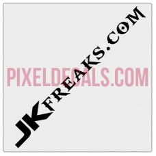 JKFreaks.com Banner Decal