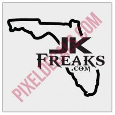 JKFreaks.com Florida Decal