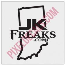 JKFreaks.com Indiana Decal