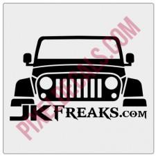 JKFreaks.com Jp Decal