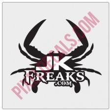 JKFreaks.com Maryland Decal