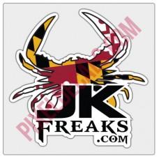 JKFreaks.com Maryland Decal - Full Color