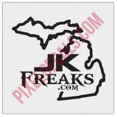 JKFreaks.com Michigan Decal