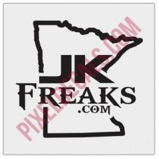 JKFreaks.com Minnesota Decal