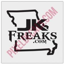 JKFreaks.com Missouri Decal