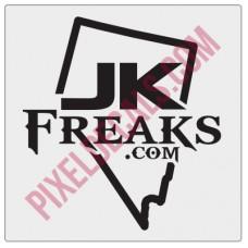 JKFreaks.com Nevada Decal